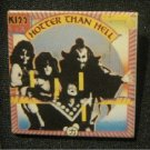 """Vintage KISS Hotter Than Hell Album 1.5"""" Square Pin (Metal/Rock)"""