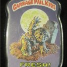 Garbage Pail Kids Fresh! Rare Topps Pin From 1986 (Halloween,Zombie Graveyard)