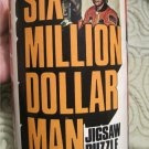 Vintage 70's Six Million Dollar Man  Jigsaw Puzzle in Can 1975