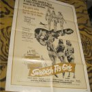 Swedish Fly Girls 1971 Original Movie Poster 1 sheet 72/33  (Sexy Stewardess)Sexpoitation