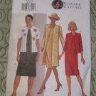 Butterick pattern 3079 Misses/ Petite Long Jacket  & Dress 8,10,12 Diahann Carroll