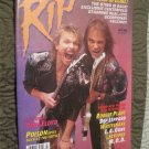 RIP magazine 1988 Scorpions Cover (Poison,Stryper,LA Guns) Glam/Heavy Metal/ Rock