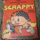 Vintage 1935 The Adventures of Scrappy (Motion Picture Cartoon,Charles Mintz) A Lynn book Hardcover