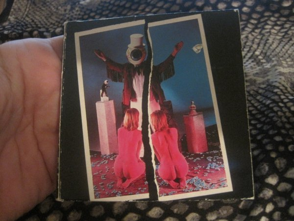 "The Residents -Double Shot 3"" Cd Single RARE!! 1988 Ryko"