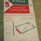 Vintage Original Singer dressmaker's Tracing Paper Sealed 1940's/50s (sewing)