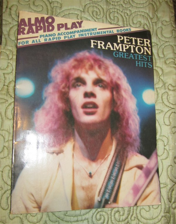 Peter Frampton Greatest Hits (Piano instruction ) Softcover Book