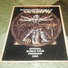 "Official Triumph 1985 ""Thunder Seven"" Concert Tour Program Book (tourbook)"