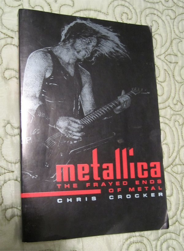 METALLICA The Frayed Ends of Metal (Heavy Metal) Paperback,Softcover Book