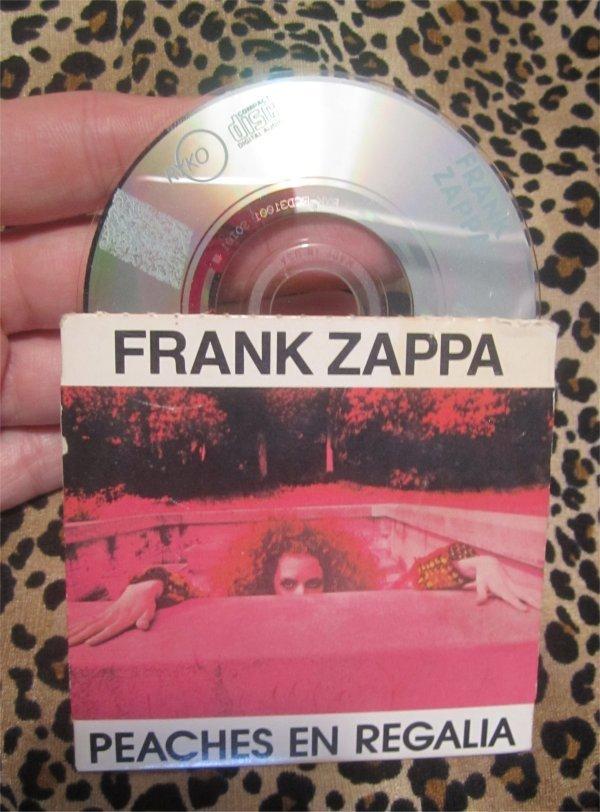"FRANK ZAPPA Peaches en regalia US 3"" CD-Single"