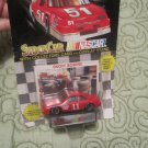 Nascar Racing Champions Geoff Bodine  Die Cast stockcar ,collectors card and Display stand