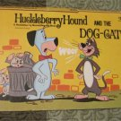 HUCKLEBERRY HOUND AND THE DOG-CAT (POP-UP BOOK) 1974 Hanna Barbera