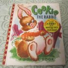 Vintage Childrens Book COOKIE The Rabbit A Bonnie Book(Jack in the Book)Pop-up Rabbit moving 1952