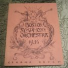 Boston Symphony Orchestra 1936  Gerome Brush Softcover Book
