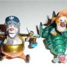 Disney Tail Spin Fast Food Die-Cast Metal Plane Toys 1990 Baloo