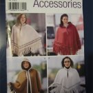 Simplicity Sewing Pattern Misses Capes and Ponchos Fabulous for Autumn/Fall