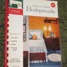 How to Make Bedspreads Book Singer Sewing Library 1960 Spiral Bound