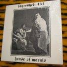 FAHRENHEIT 451 - house of morals'' ep 1986 RARE  New Jersey Goth 80s Underground