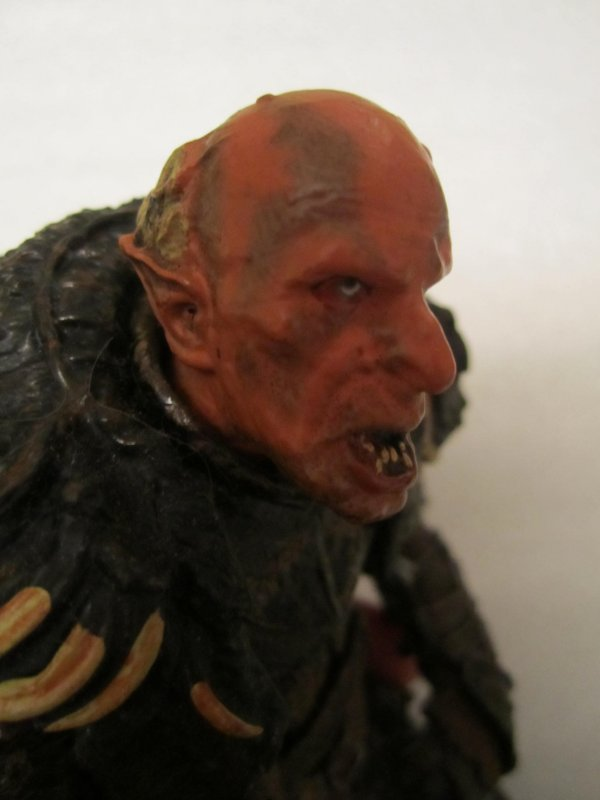 Lord of the Rings GRISHNAKH ORC CAPTAIN Loose FIGURE by TOYBIZ