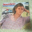 "Patricia Simpson-Dreams in The City 7"" Vinyl Record w/PS 1985"