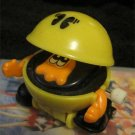 Video GameToy action figure Pacman VintageTomy 80's Toy wind-up walker (Tchotchke Kitch )