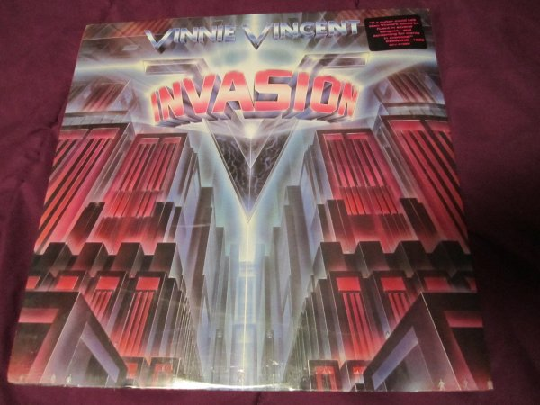 Vinnie Vincent Invasion Full Lp 12 Quot Vinyl Sealed New 1986