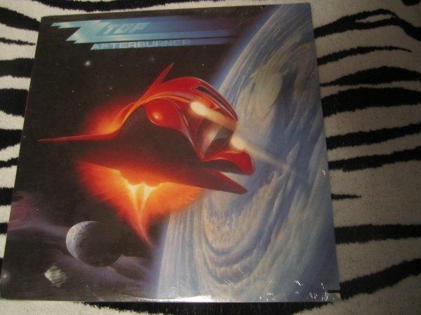 "ZZ Top Afterburner 12"" Vinyl Record SEALED 1985"