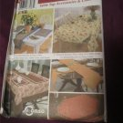 Simplicity Pattern 5530 Table Cloths, Place Mats, Table Runners,Chair Pad Covers