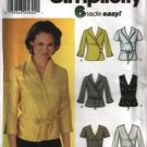 Simplicity Sewing Pattern 7082 Misses Size 14,16,18,20  Easy Wrap Tops Blouses Uncut