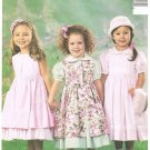 McCall's Sewing Pattern 3949 Girls 6-7-8 Dress Pinafore Petticoat Formal Party Dress FREE SHIPPING