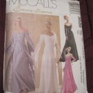 McCall's 3535 Empire Waist Evening or Bridal Dress Pattern Uncut Size 16,8,20,22 FREE SHIPPING