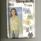 Simplicity 5557 Camisole and Blouse,vest 6 Easy twin sets pattern