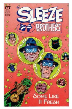 The Sleeze Brothers -Some Like it Fresh  ~ Epic Comics (Blues Brothers) FREE SHIPPING