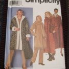 Simplicity 9478 Misses Coat, Scarf & Bag Sewing Pattern L-XL