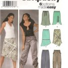Simplicity 5256 Sewing Pattern Misses Pull-On Pants & Bias Skirts Size 12,14,16,18