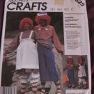 McCalls 2625 Pattern 1986 Raggedy Ann and Andy Costume Size 6-8