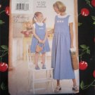 Butterick 6093 Mother Daughter Jumper Pattern Misses Childs Size XS-L