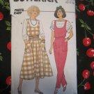 Butterick 3107 Misses Jumper,Jumpsuit & Top  Size 12-14-16  vintage 1985