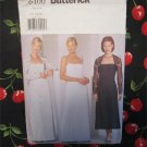 Butterick Pattern 6400, Misses Shrug & Evening, Prom, Party Dress, Sizes 12,14,16