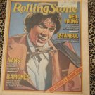 Rolling Stone Neil Young- Vans - Ramones - Istanbul  February 1979 FREE SHIPPING