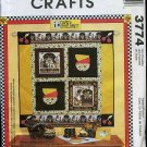McCall's 3774 Mary Engelbreit Tote bag Purse Fabric Picture Frames Craft Pattern