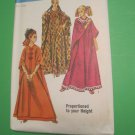 Vintage 1960s Simplicity Sewing Pattern 8354, Boho Caftan  (60's) One Size