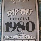 Rip Off Press Comix Calendar 1980. Underground (Vintage ,Hippie,Dope)RARE