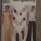 Misses' Tops, Pants, Skirts, Elegant 2 Piece Formal Wear, Bridesmaid, Wedding, Prom, Simplicity 7220