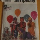 Simplicity 7475 sewing pattern 2 hour childrens Costumes (Halloween costume)