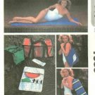 McCALL'S Sewing Pattern 7583 - EXERCISE or BEACH MAT-PICNIC BAGS & KITS-TABLE MAT PATTERN