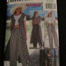 Butterick 6857 Free Spirted Dress, Top & Pants 1993