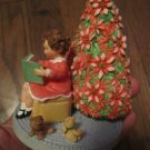 Hallmark Spoonful of Stars The Heart of Christmas Figurine (Girl reading book)