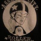 Assault City Roller Derby Syracuse NY T-Shirt  Rockabilly,Skate,Girls