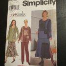 Simplicity Pattern # 8246 UNCUT Misses Top Skirt Pants Size 12,14,16