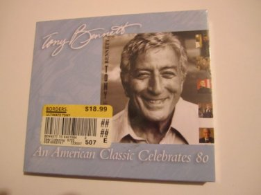 The Ultimate Tony Cd Tony Bennett An American Classic Celebrates 80 Sealed NEW